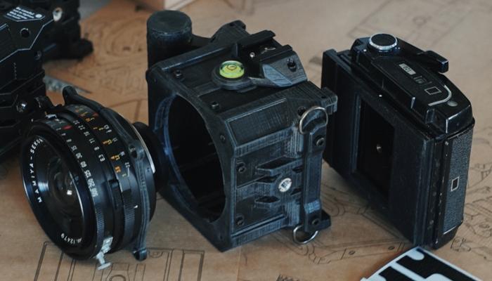 Dora Goodman's DIY Kamera Kit für analog Begeisterte ohne 3D-Drucker.