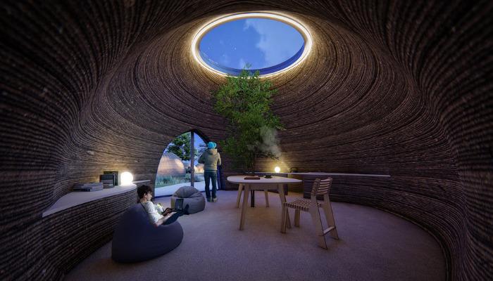 eco-habitat represents a step towards sustainable housing