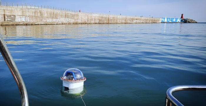 seawater battery-based smart buoys