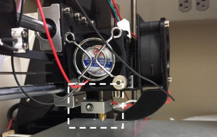 ThermoTag 3D printer