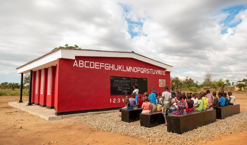 3D printed school in Malawi