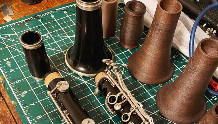 Clarinet repair services by Pereira3D