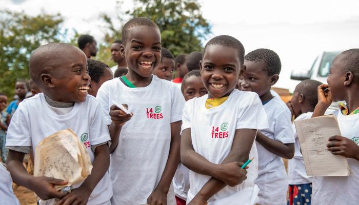 Malawian school children