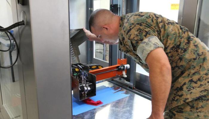 US Army impression 3D