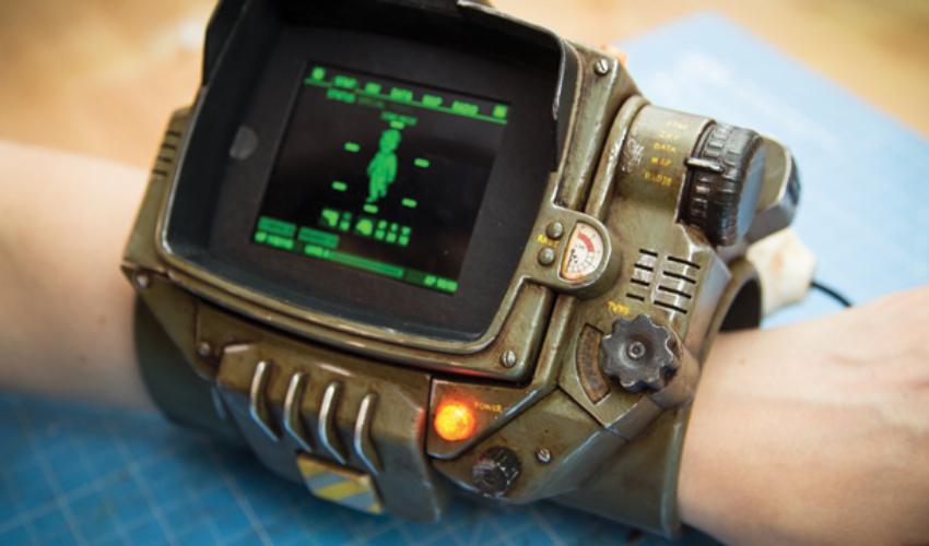 3D Printed Fallout Pip-Boy Device