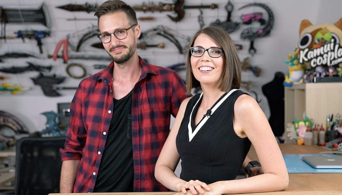 Kamui Cosplay Founders Svetlana Quindt and Benni Schwarz