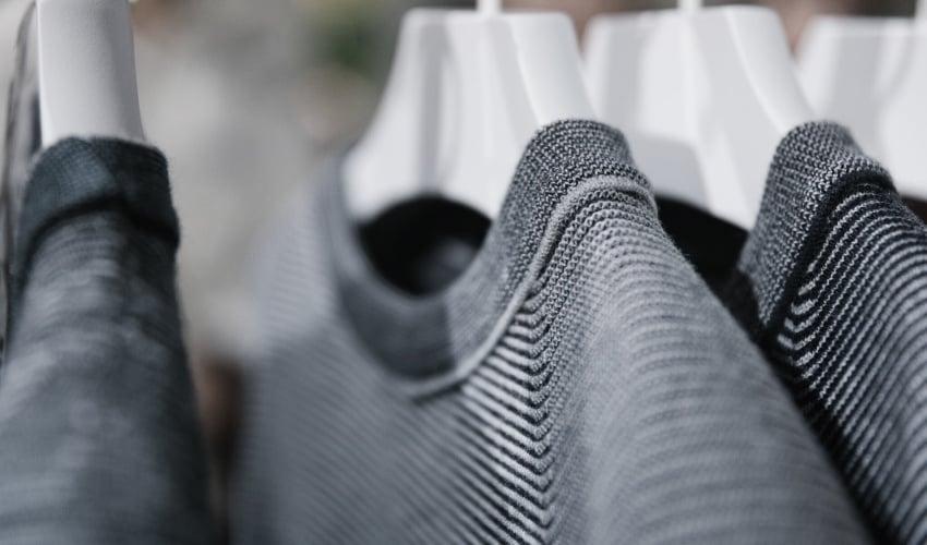 3D printed knitwear
