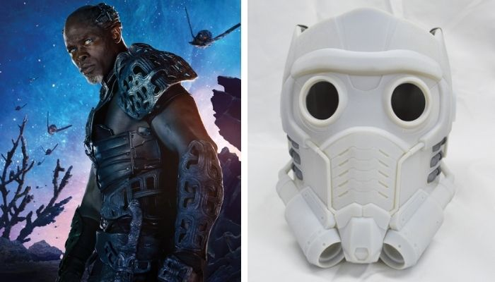 3D printing is often used in the movie industry