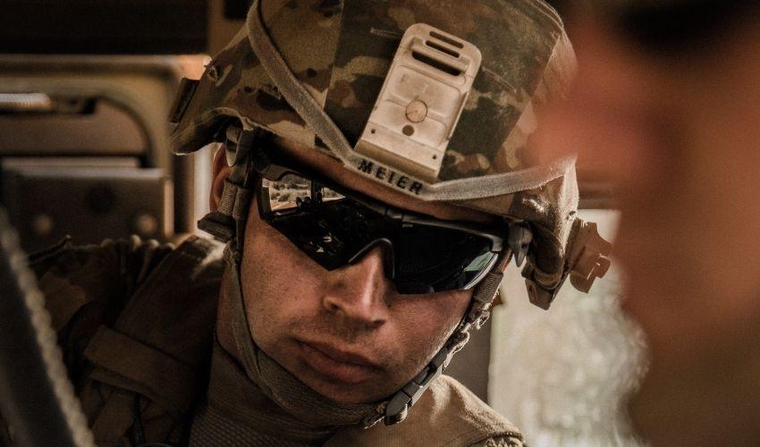 3D printed army helmets