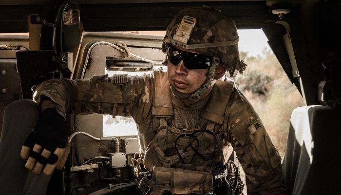 3D printed army combat helmet
