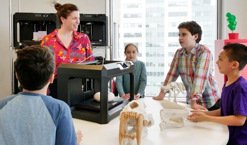 3D printing remote learning