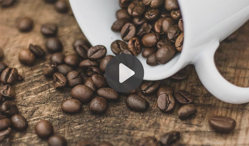 3D printing coffee ground filament
