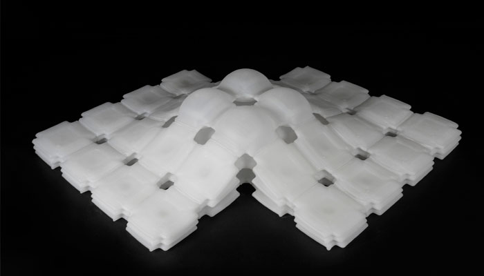 inflatable 3D printing material