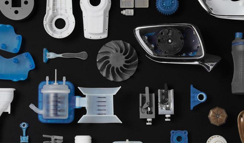 plastic end-use part