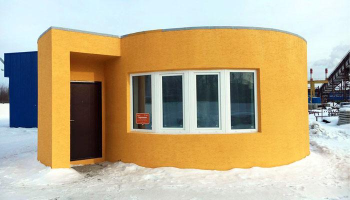 3D printed house