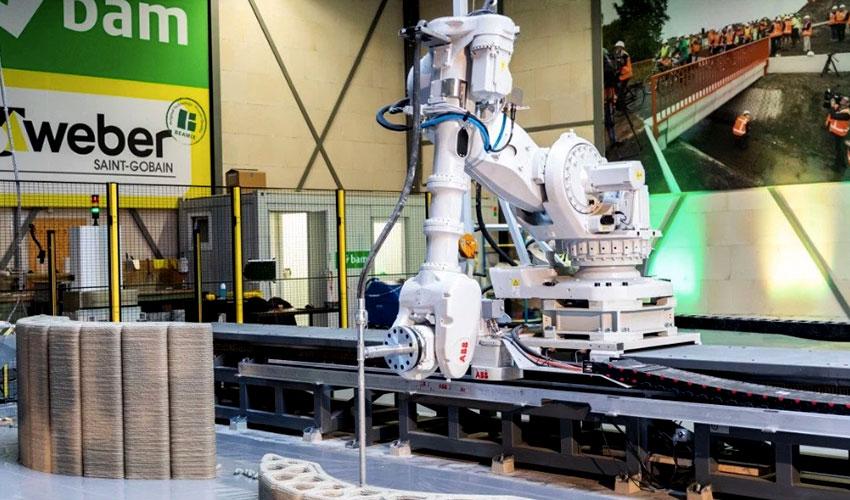 3d concrete printing facility