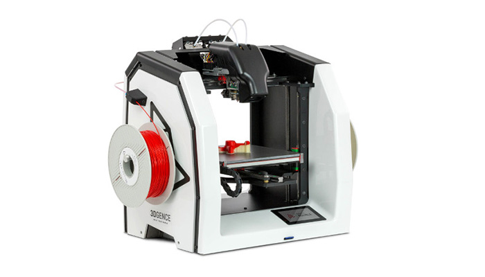 Dual extrusion 3D printing