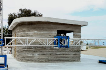 Be More 3D launched the construction of the first 3D printed house in Africa