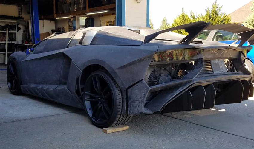 3D printed Lamborghini