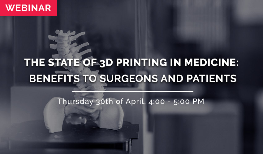 state of 3d printing in medicine