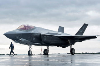 Marines made 3D printed part for F-35 Stealth Fighter