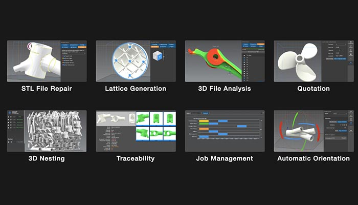 Additive Manufacturing Workflow Software