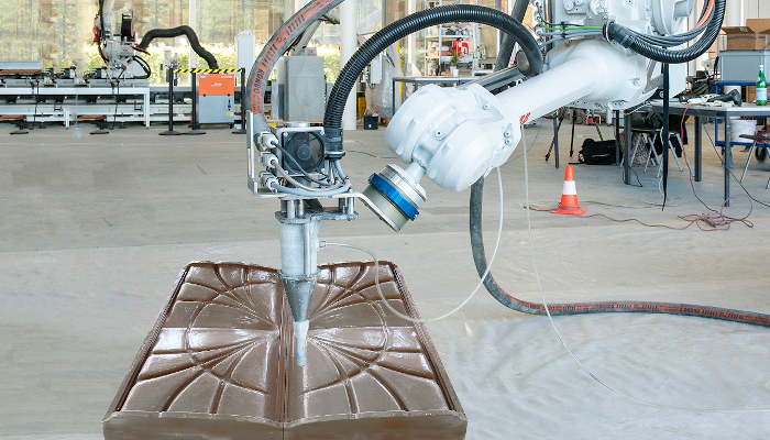 Fast Complexity concrete 3D printing
