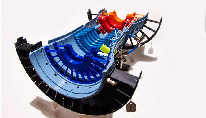 3d printed jet engine