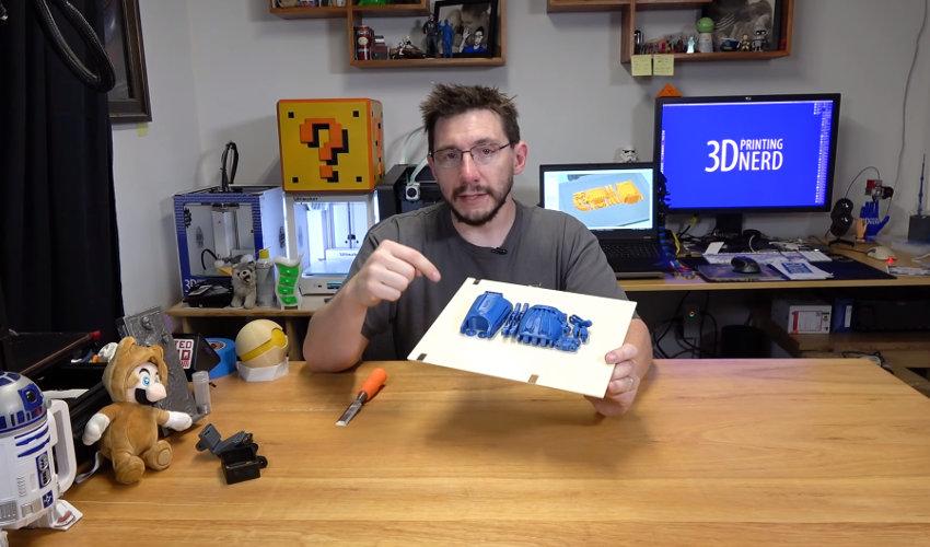 We interviewed Joel Telling, AKA 3D Printing Nerd