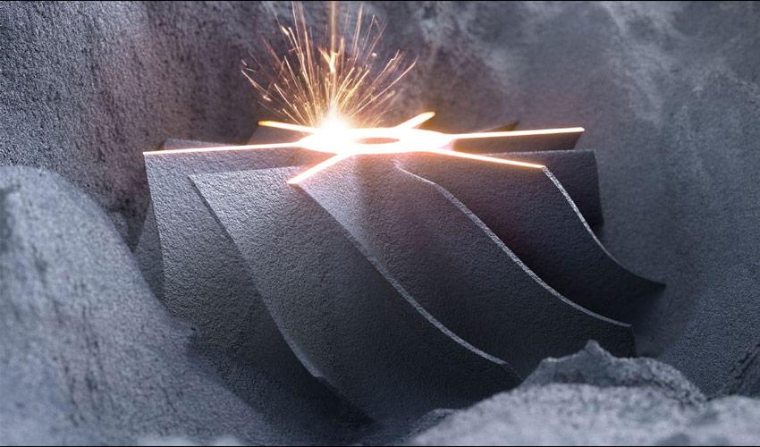 laser powder bed fusion