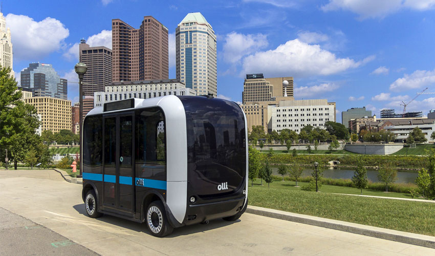 Local Motors receives $1bn for 'Olli,' the 3D Printed Autonomous Bus