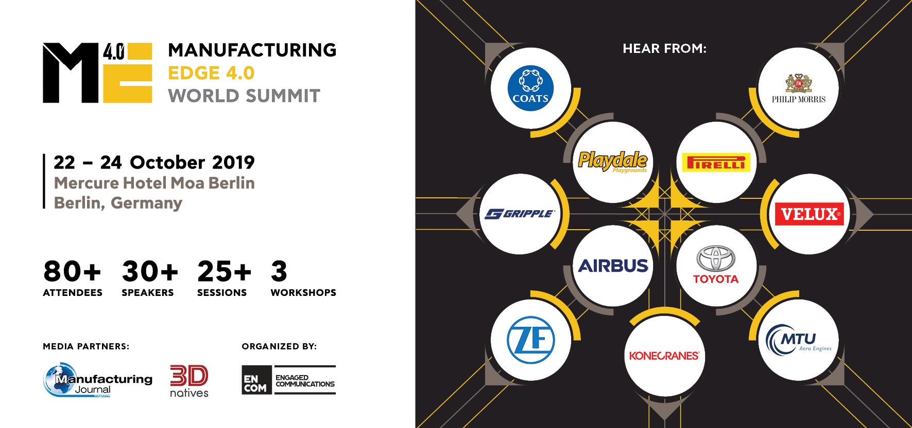 Manufacturing Edge 4.0 World Summit