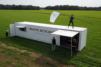 Precious Plastic values recycling plastic waste with new technologies