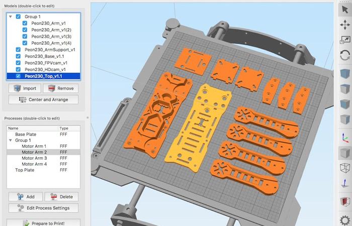 Simplify3D slicer
