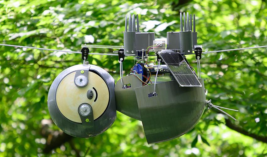 3D printed SlothBot