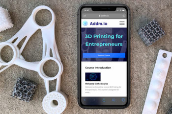 Addmio, an online platform to learn 3D printing