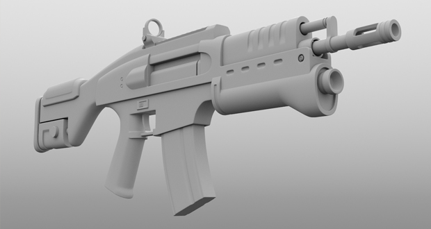 3D printed weapon