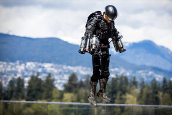 You can now get up in the air with the 3D printed jet suit