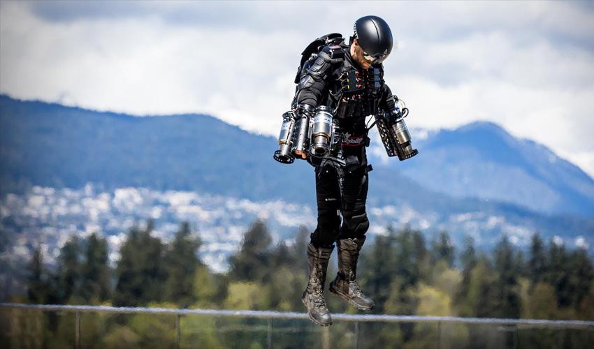 3D printed jet suit