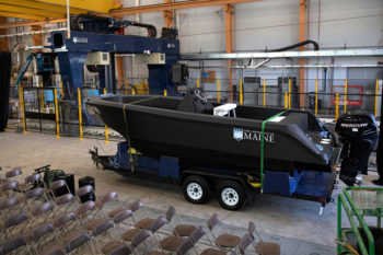 University of Maine creates the world's largest 3D printed boat