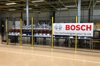 How does the Bosch industrial group rely on additive manufacturing?