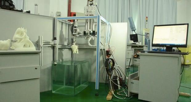 water 3D scanner