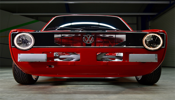 3i-PRINT project creates 3D printed front end on classic Caddy 1 car
