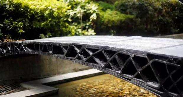 China 3D printed bridge