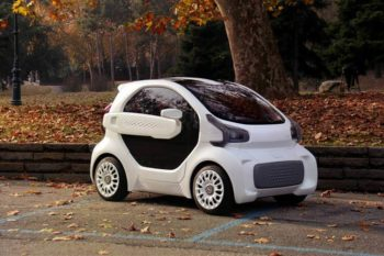 A 3D printed electric car ready for 2019?