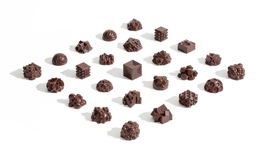 3D chocolat