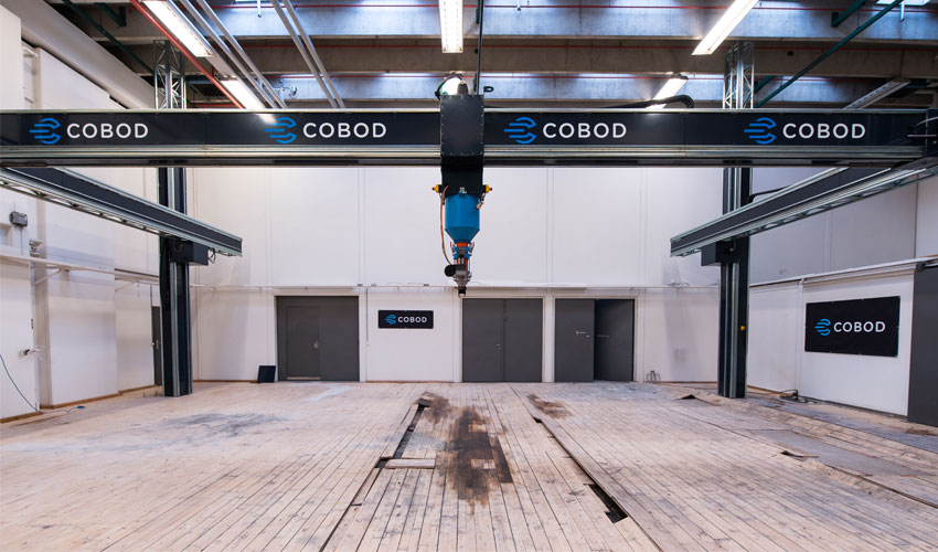 3D Construction Printer from COBOD is Headed to Saudi Arabia