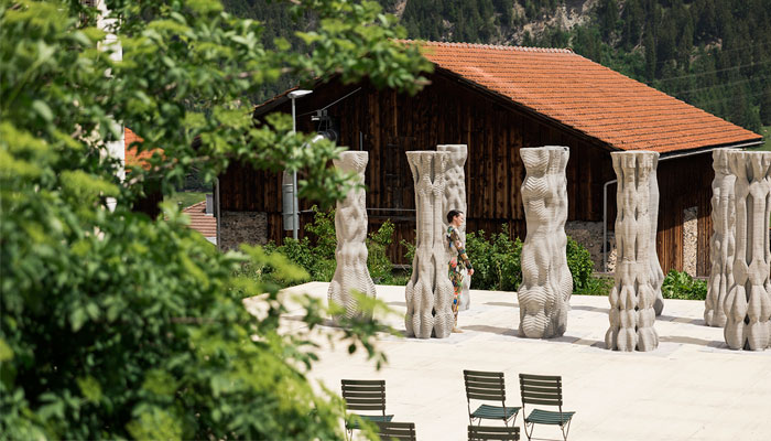 3D printed columns