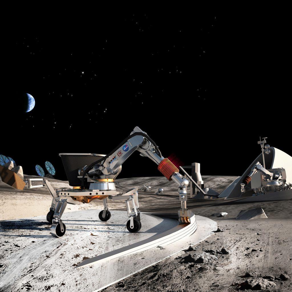 3D printing Mars