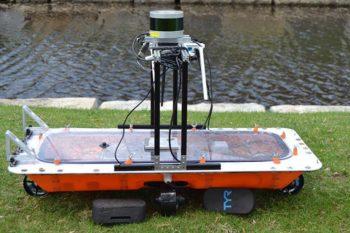 RoBoat 3D printed autonomous boats in Amsterdam